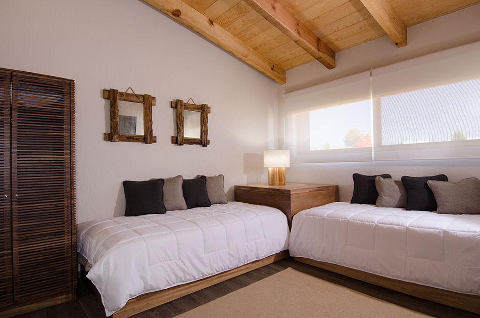 Proyecto for Recamaras con camas individuales